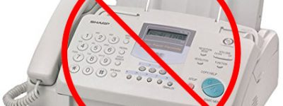 No Fax Machine